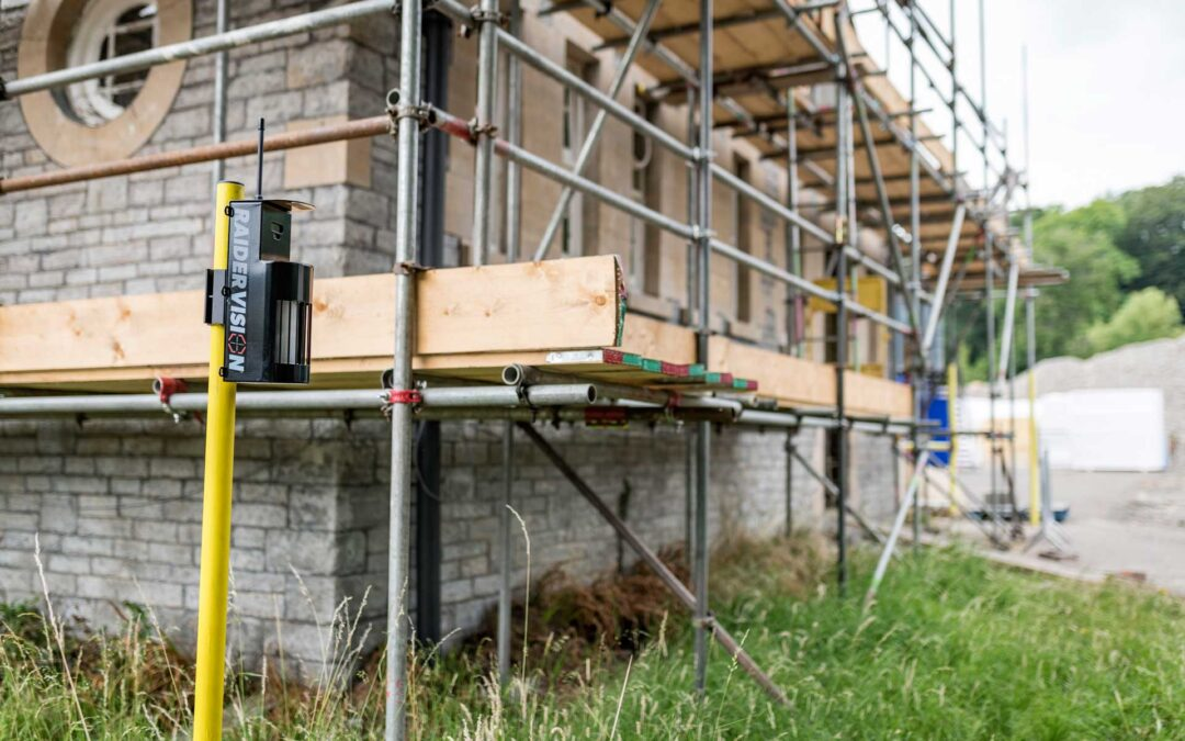 Temporary Scaffolding Security Alarm Hire from RaiderVision